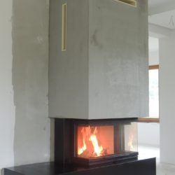 Nowczesny kominek - ekologiczne ogrzewanie domu