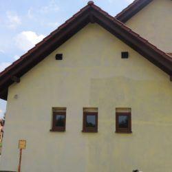 Dom, w którym wykonano system rekuperacji