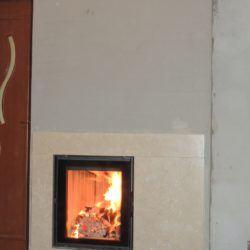 Niewielki kominek - realizacja w Rzeszowie