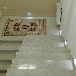 Eleganckie schody zmarmuru